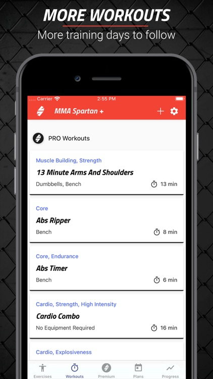 MMA Spartan Workouts Pro screenshot-3