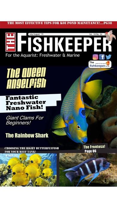 The Fishkeeper Magazine Screenshot