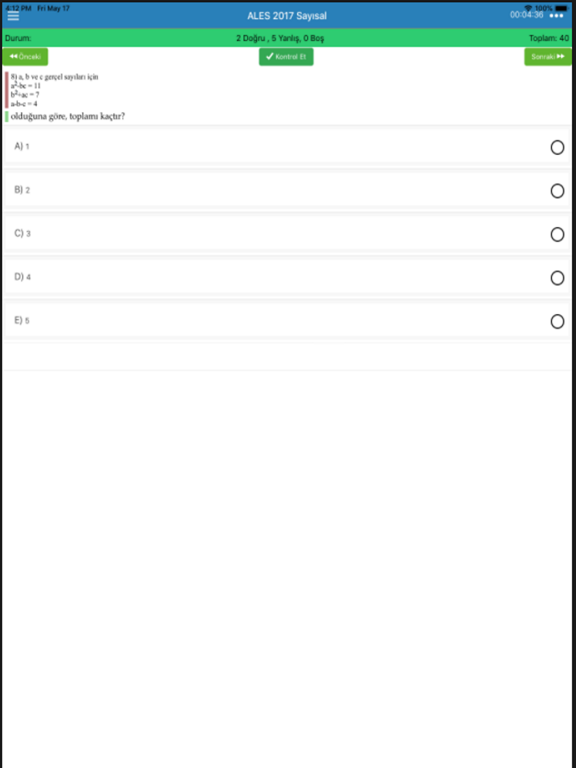 ALES Çıkmış Soruları screenshot #2
