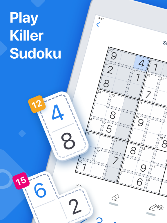 Killer Sudoku by Sudoku.com screenshot 9