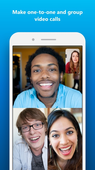 Skype for iPhone Screenshot on iOS