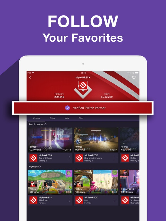 Twitch: Live Game Streaming-ipad-4