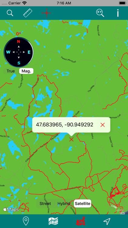 Superior National Forest – GPS screenshot-3