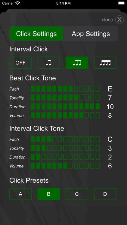 Drummer ITP - Metronome App screenshot-3