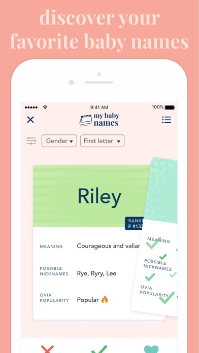 Ovia Pregnancy Tracker and Baby Calendar (maternity app) screenshot