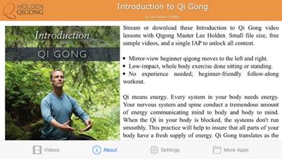 Introduction to Qi Gong screenshot two