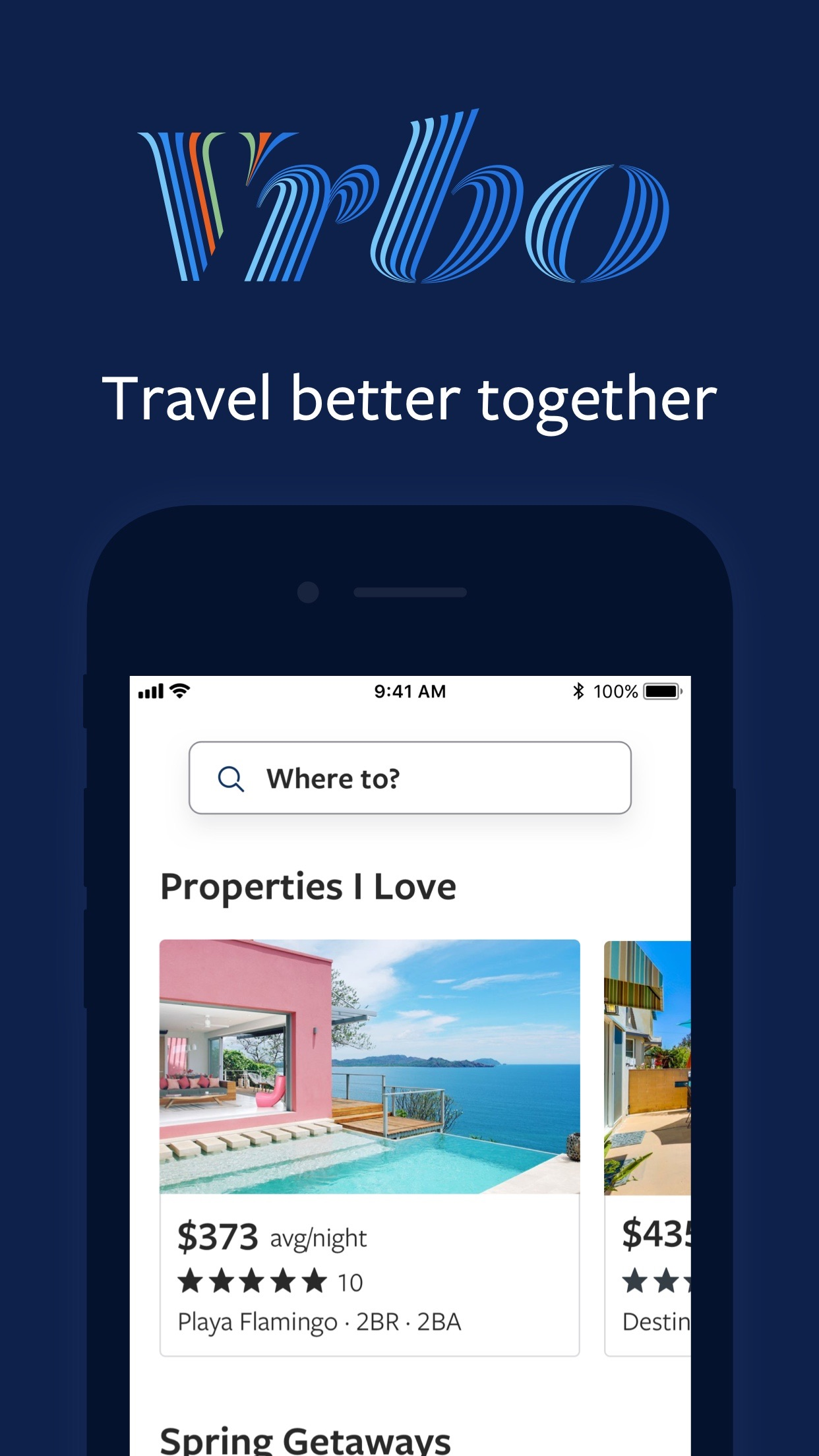 Vrbo Vacation Rentals Screenshot
