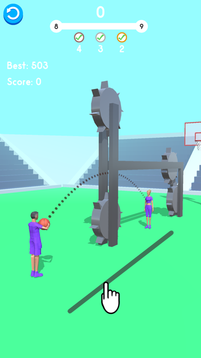 Ball Pass 3D screenshot 5
