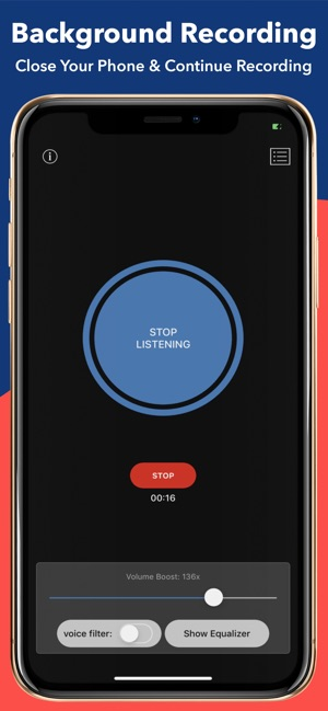 Hear Boost: Enhanced Recorder on the App Store
