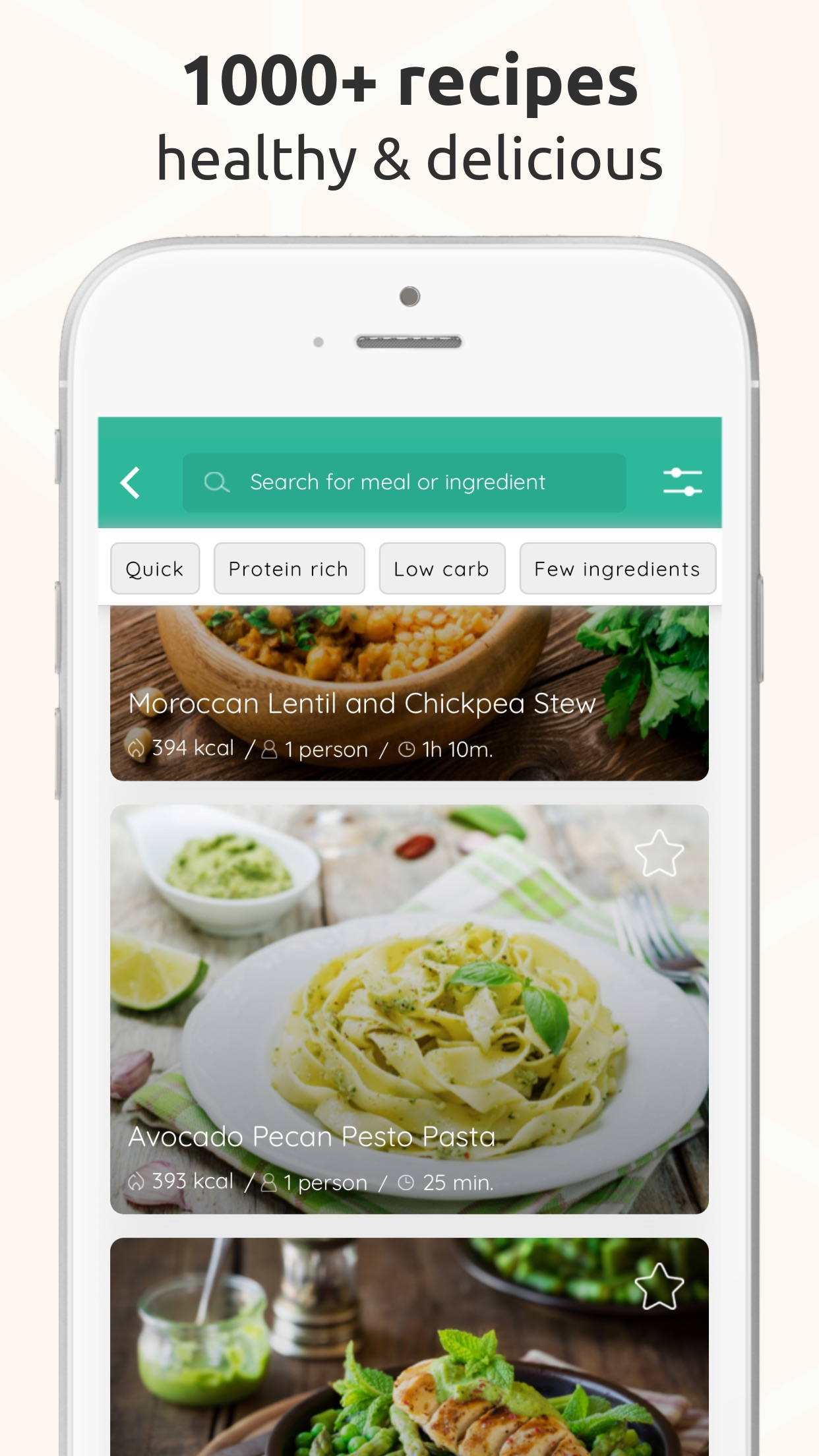 Arono - Meals for weight loss Screenshot