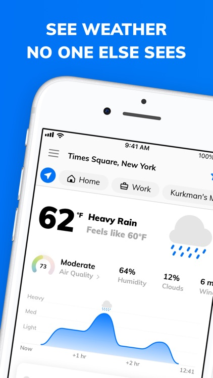 Weather Assistant by ClimaCell screenshot-0