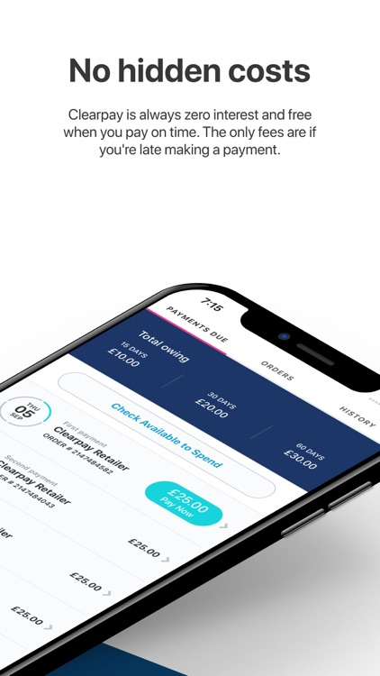 Clearpay – Shop Now, Pay Later screenshot-3