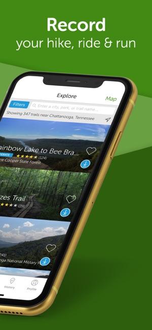 AllTrails: Hike, Bike & Run on the App Store