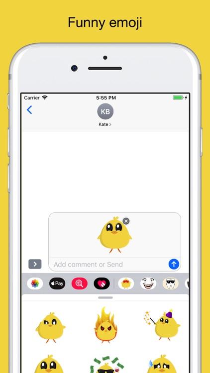 Chicky chick - chicken emoji