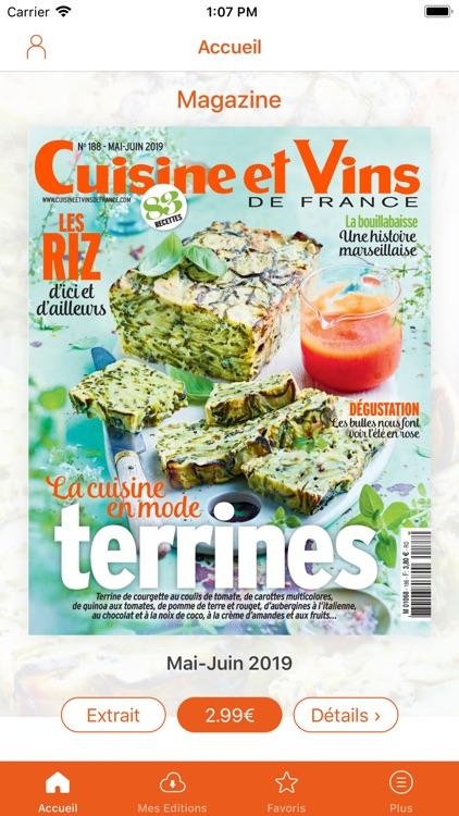 Cuisine Et Vins De France By Groupe Marie Claire