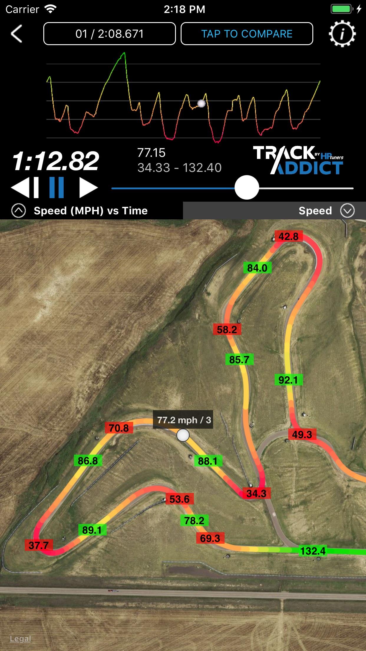 TrackAddict Screenshot