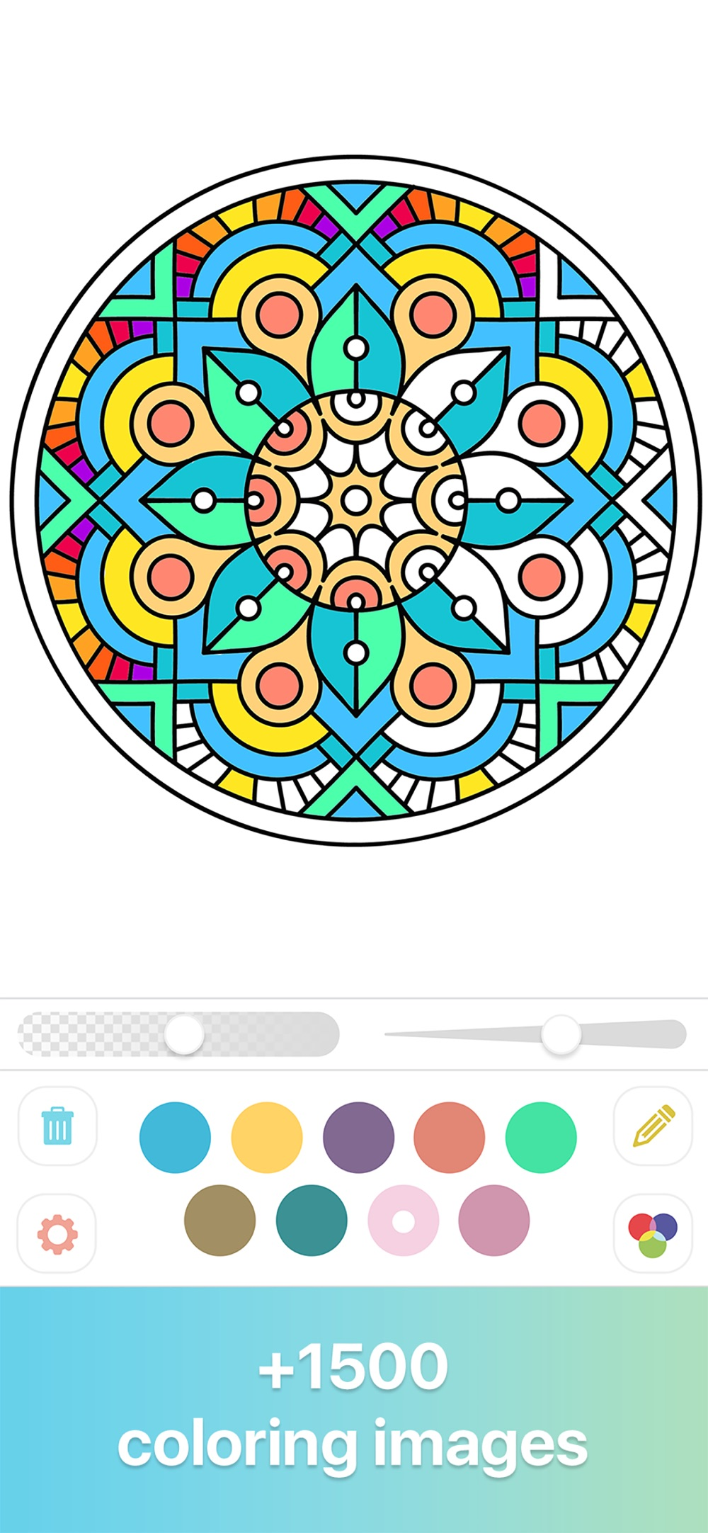 Coloring Book for Adults ∙ Cheat Codes