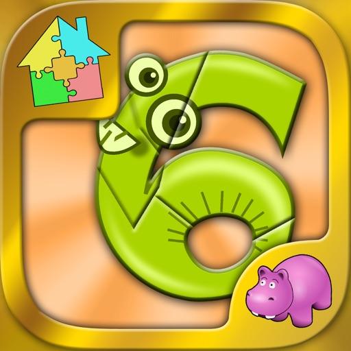 Digits Jigsaw Puzzle