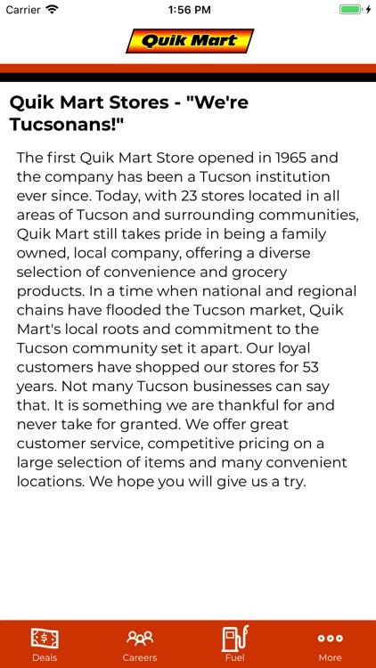 Quik Mart Rewards
