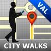 Valletta Map & Walks (F)