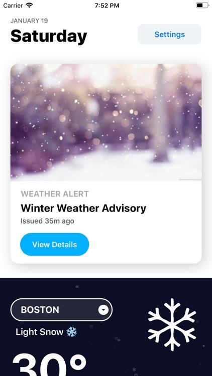 Weather` screenshot-0