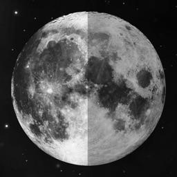 Phases de la lune + calendrier