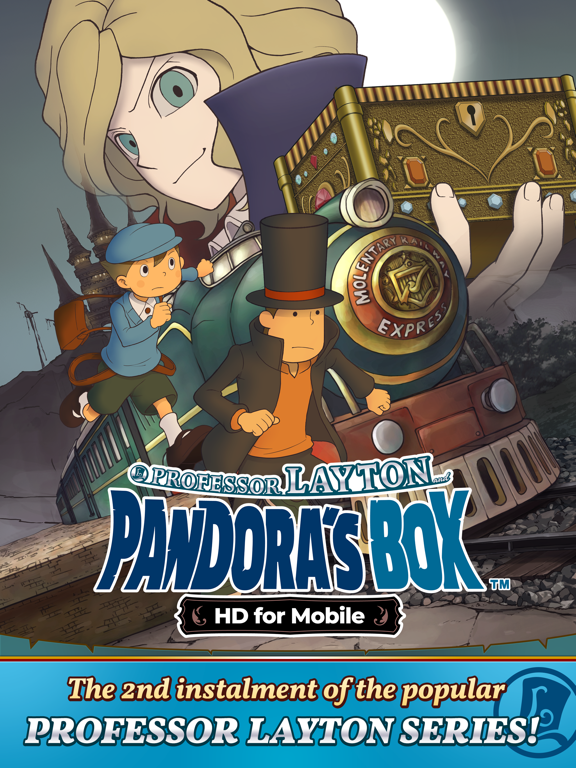 Layton: Pandora's Box in HDのおすすめ画像1