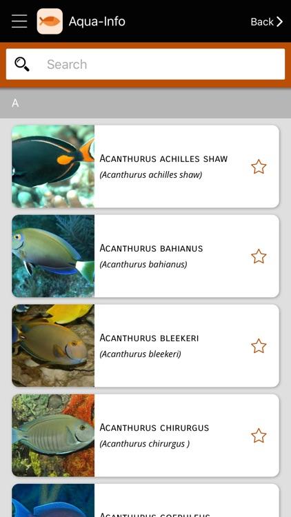 Aqua-Info - Aquarium screenshot-3