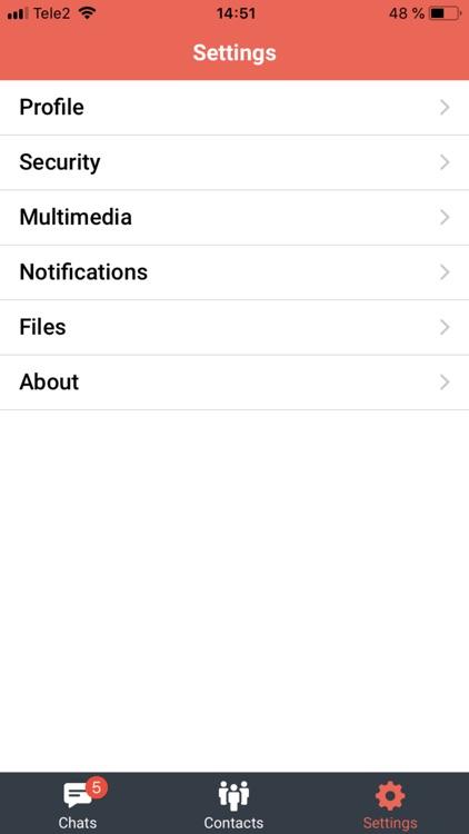 UAround Private & Secure chat screenshot-9