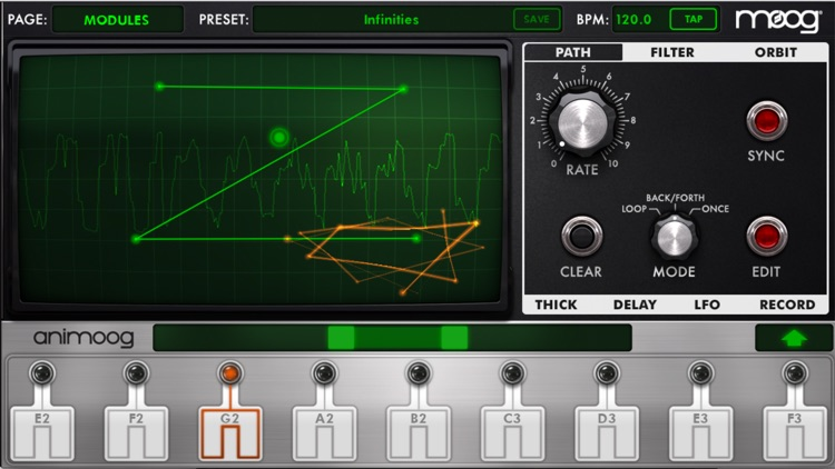 Animoog for iPhone screenshot-0