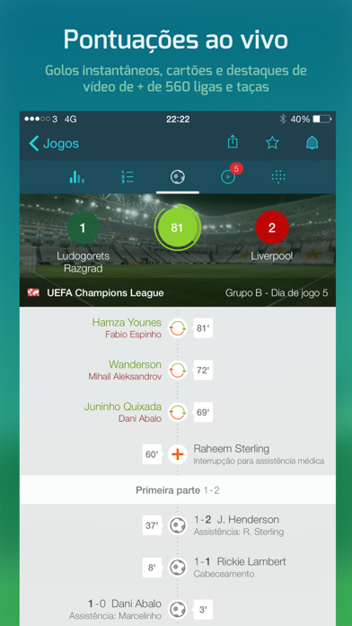 Screenshot for Forza Football in Portugal App Store