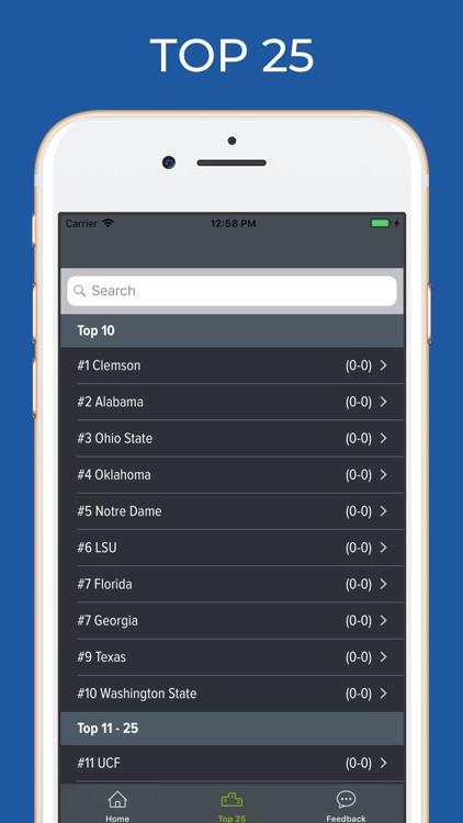 Minnesota Football Schedules screenshot-5