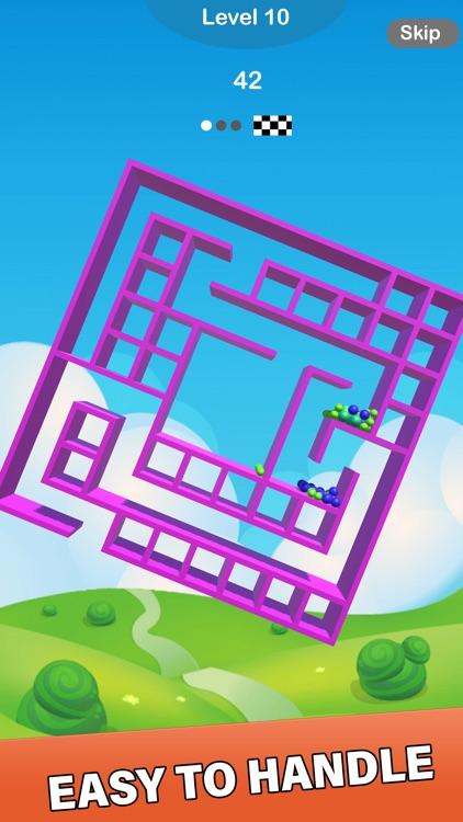 Balls and Maze 3D screenshot-4