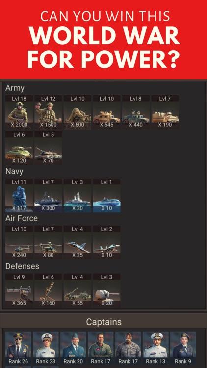 Warzone Military Strategy Game screenshot-7