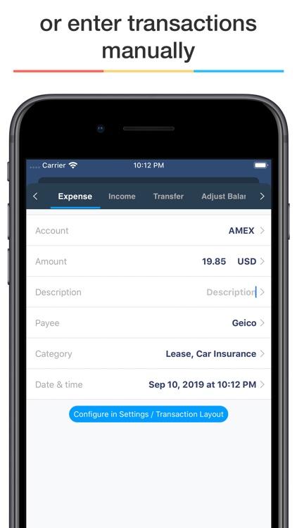 MoneyWiz 3 - Personal Finance screenshot-4