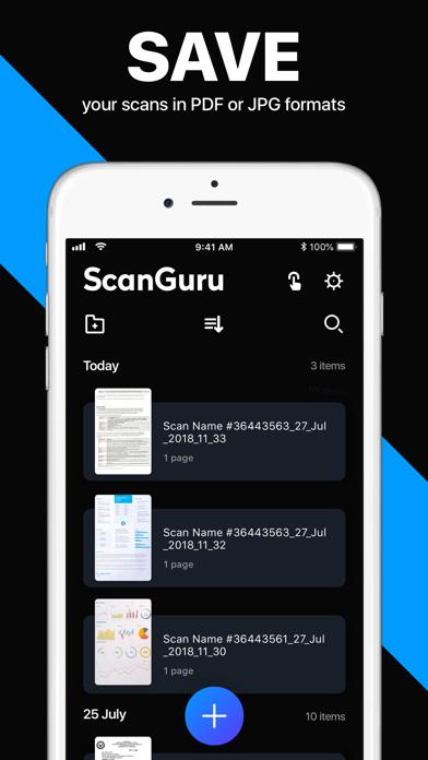 ScanGuru: PDF Docs Scanner App Screenshot