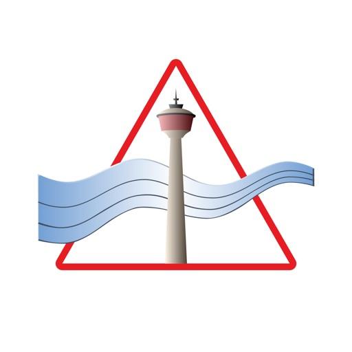 Calgary Wind Warning App