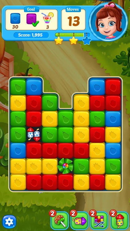 Fruit Cube Blast: Match 3 Game screenshot-6