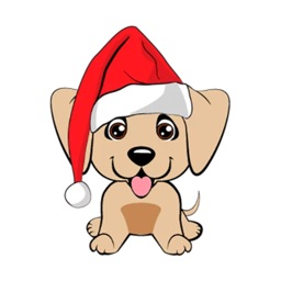 Christmas Puppies Sticker Pack