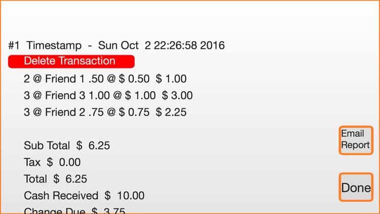 Yard Sale Checkout Register screenshot-4