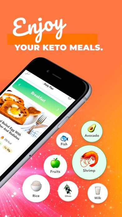 KetoApp - Diet Recipes Screenshot