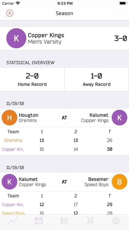 HoopMetrics   Basketball Stats screenshot-4