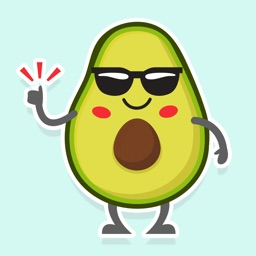 Avocado: Animated Stickers