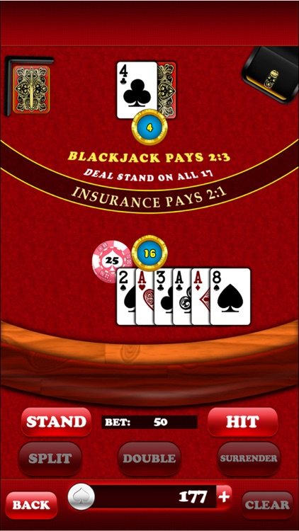 Blackjack Free screenshot-4