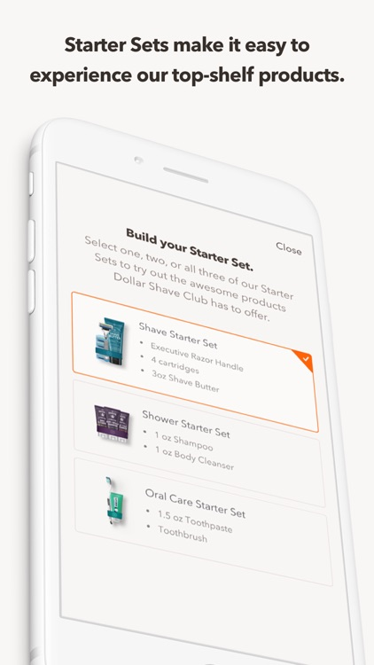 Dollar Shave Club screenshot-2