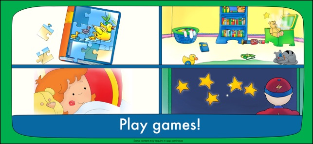 Goodnight Caillou on the App Store