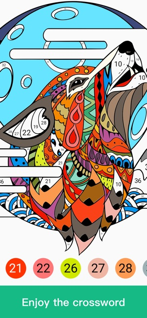 Paint By Number Coloring Games On The App Store