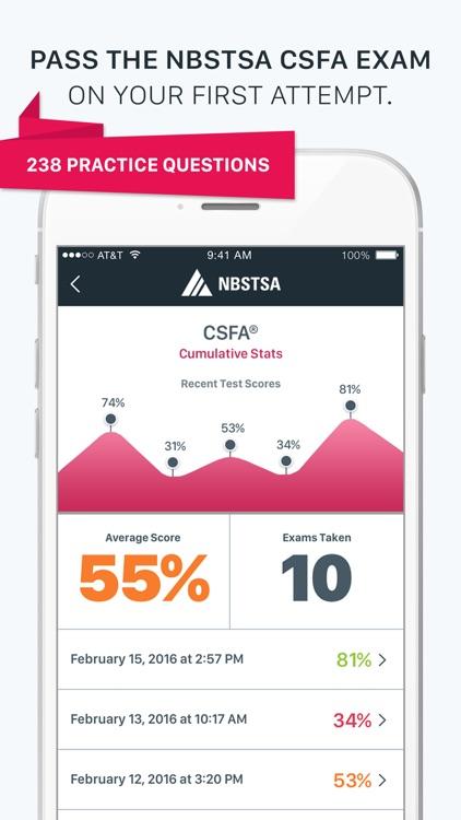 Official NBSTSA CSFA Exam Prep