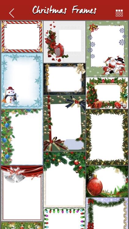 Christmas Photo Frames Effect screenshot-5