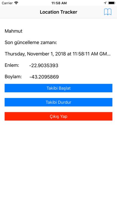 Konum Takip screenshot two